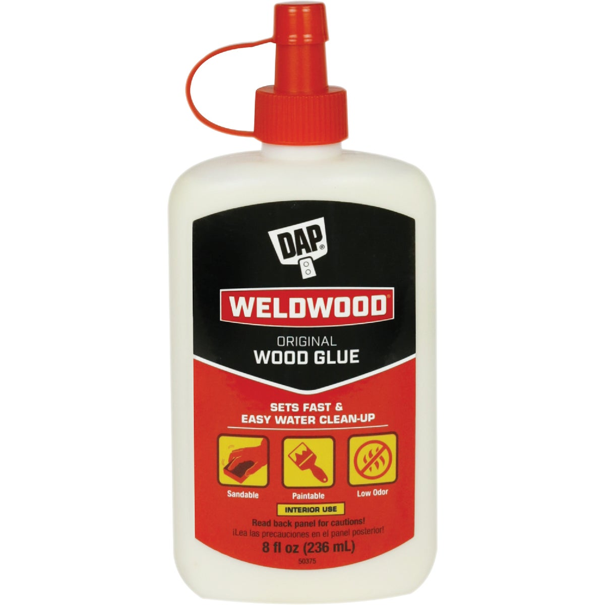 8OZ WOOD GLUE - 00490 by Dap Inc