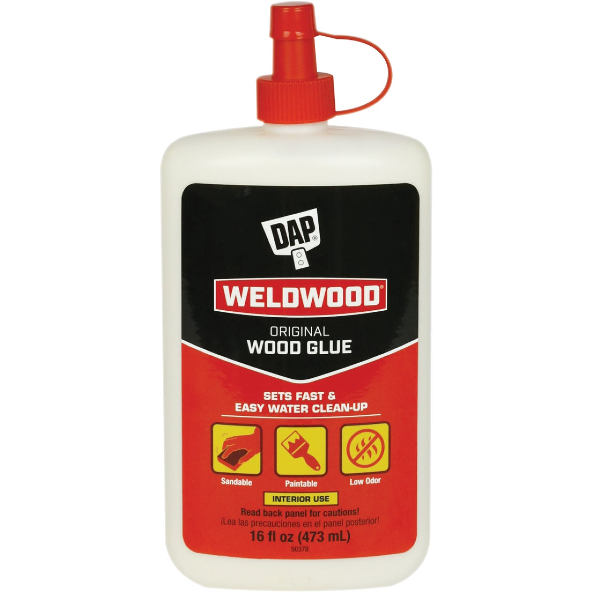 16OZ WOOD GLUE - 00491 by Dap Inc