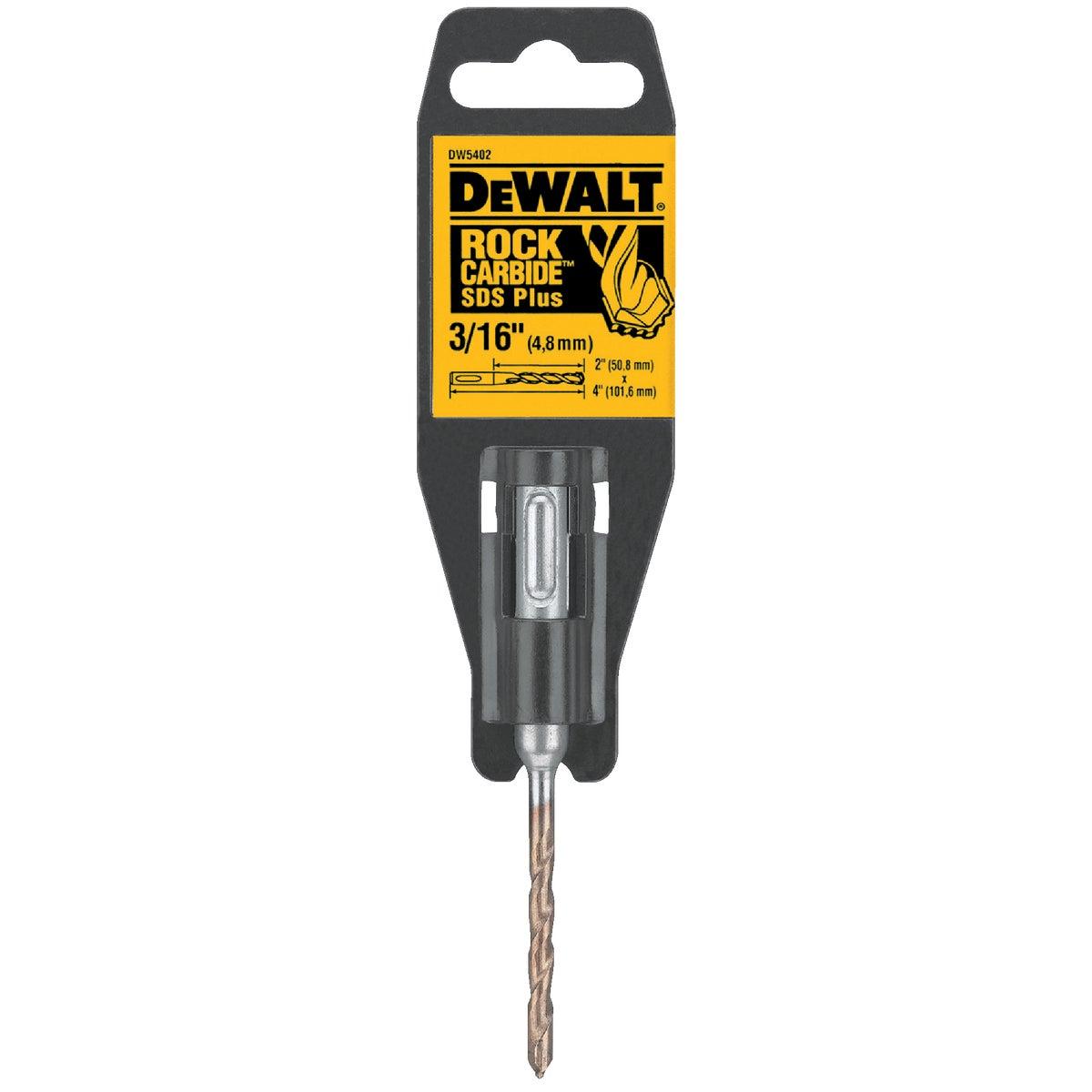 Black & Decker/DWLT 3/16 SDS MSNRY DRILL BIT DW5402
