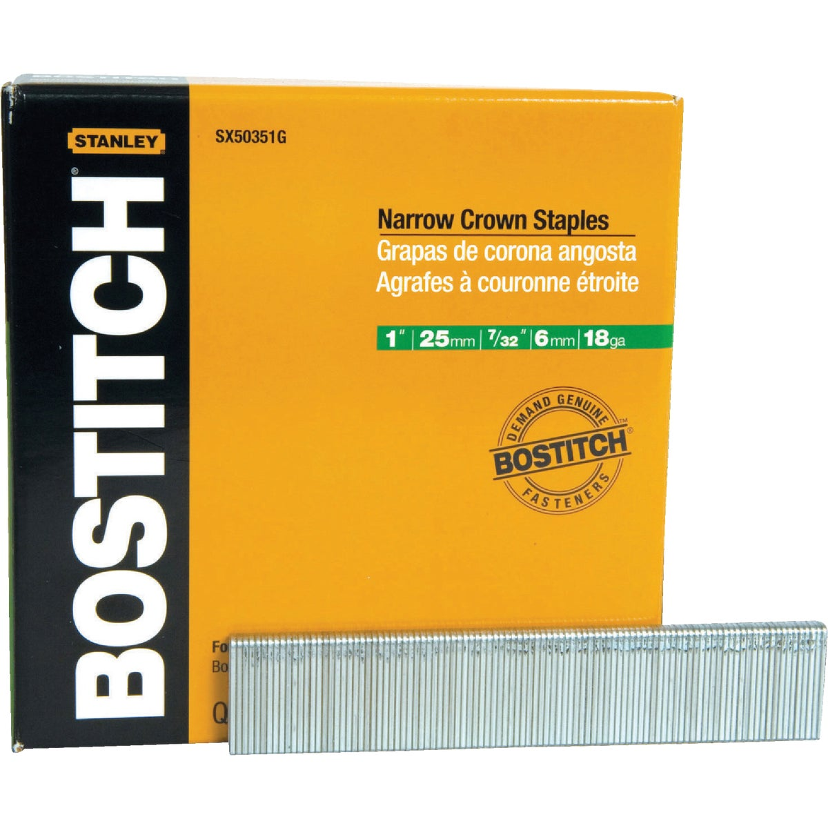 "1"" GALV FINISH STAPLE - SX50351G by Stanley Bostitch"