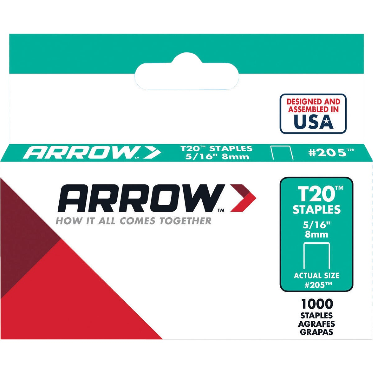 "5/16"" STAPLE - 205 by Arrow Fastener Co"