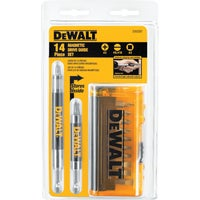 DeWalt 14-Piece Magnetic Drive Guide Screwdriver Bit Set, DW2097