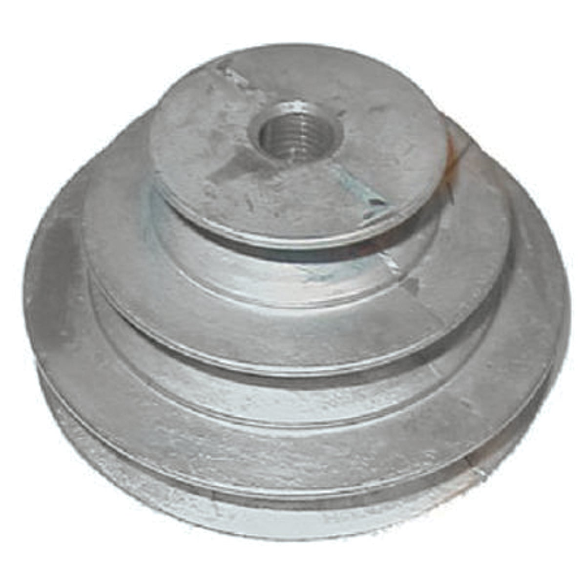 "1/2"" 3-STEP CONE PULLEY - 146-5 by Chicago Die Casting"