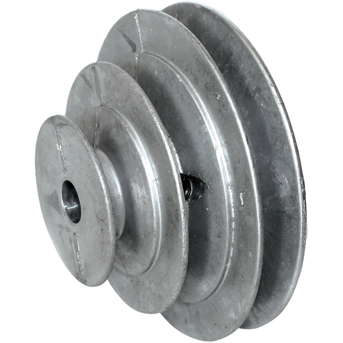 "3/4"" 3-STEP CONE PULLEY - 146-7 by Chicago Die Casting"