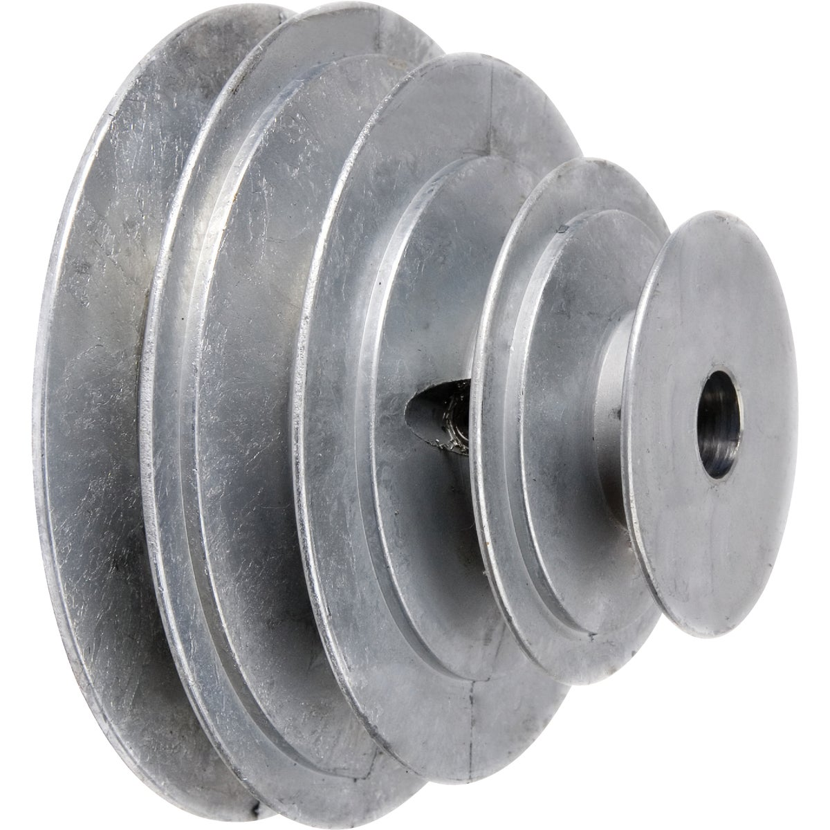 "1/2"" 4-STEP CONE PULLEY - 141-5 by Chicago Die Casting"