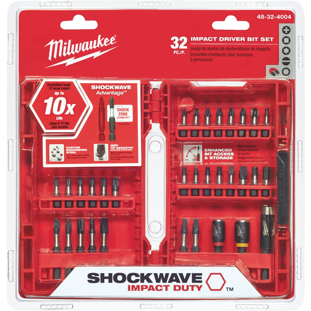 29PC IMPACT BIT SET - 48-32-4401 by Milwaukee Accessory