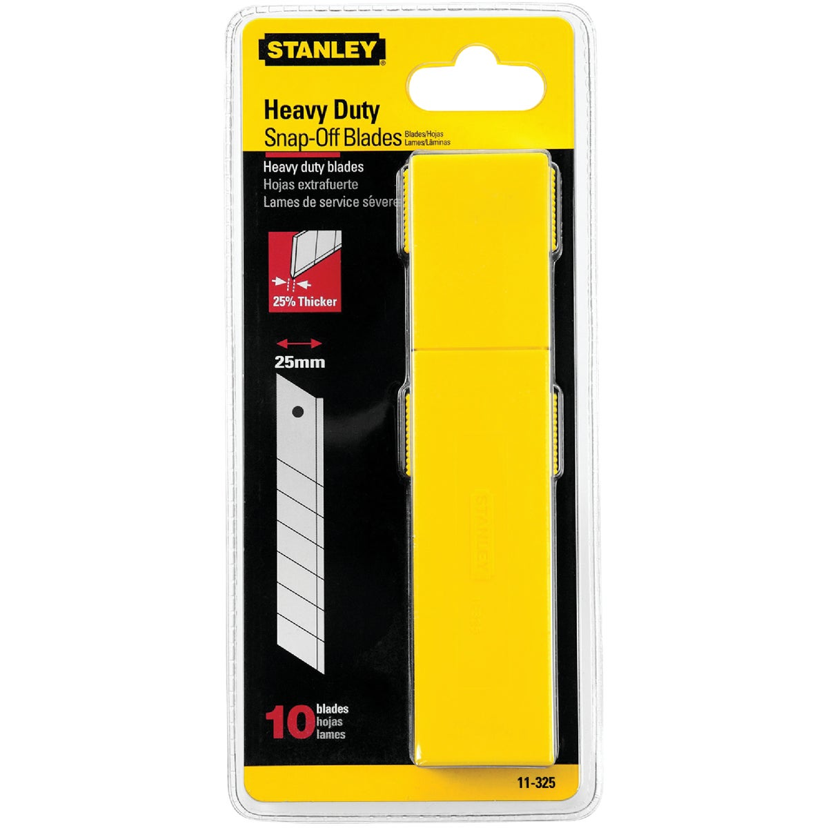 25MM QUICK SNAP BLADE - 11-325T by Stanley Tools