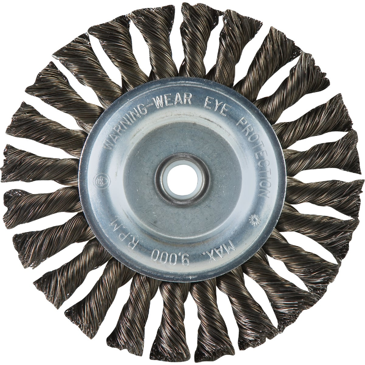 "6"" KNOT WIRE WHEEL - 36027 by Weiler Corporation"