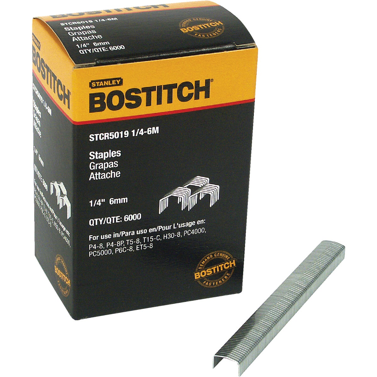 "1/4"" STAPLE - STCR50191/4-6M by Stanley Bostitch"