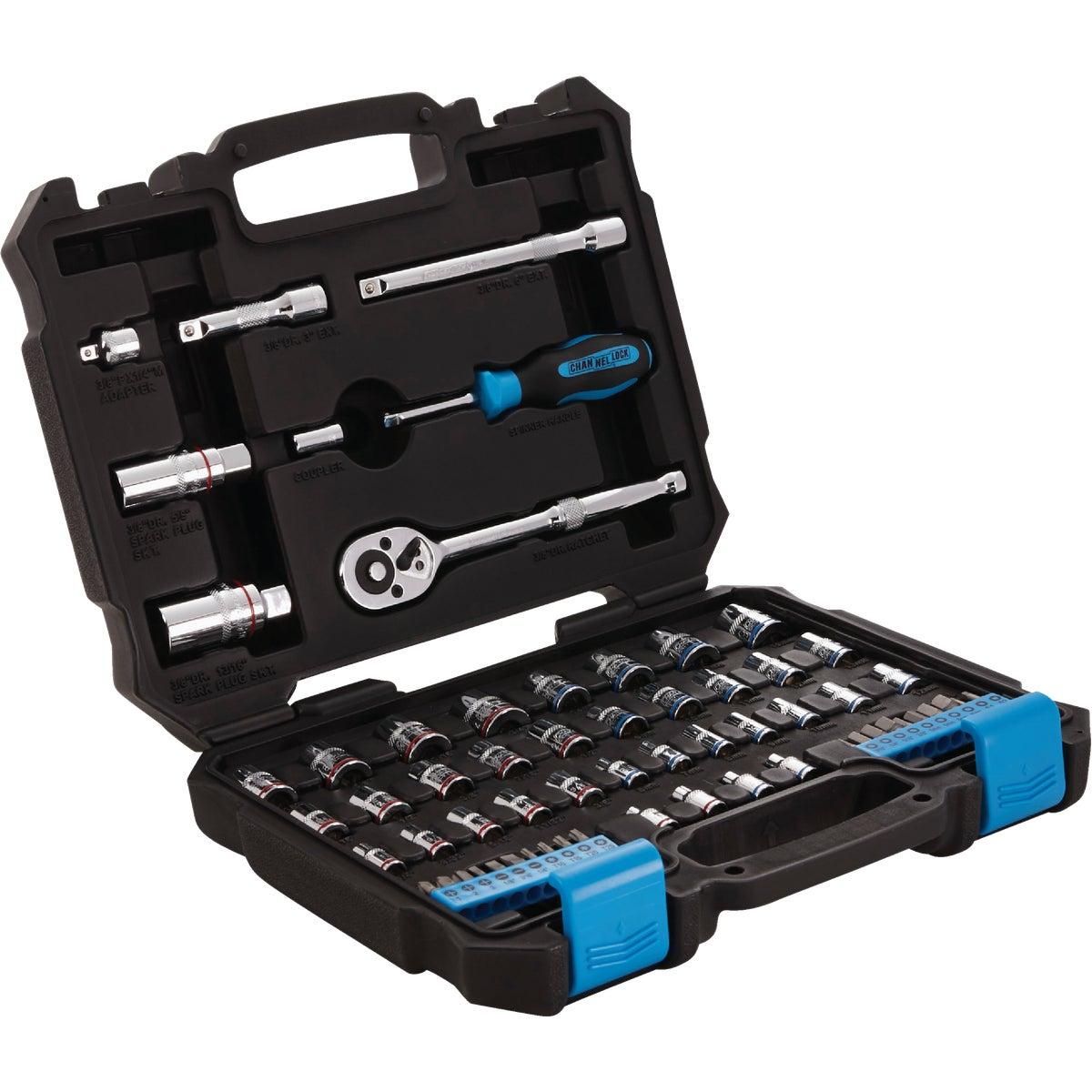 DIB Tool Imports 42PC 1/4-3/8 SOCKET SET 346713