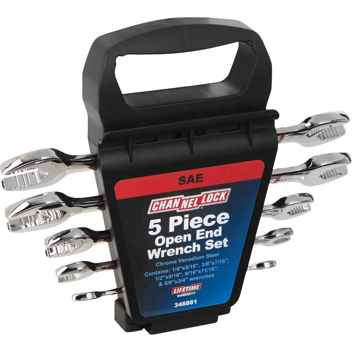 5PC OPEN END WRENCH SET - 346861 by Danaher Tool Ltd