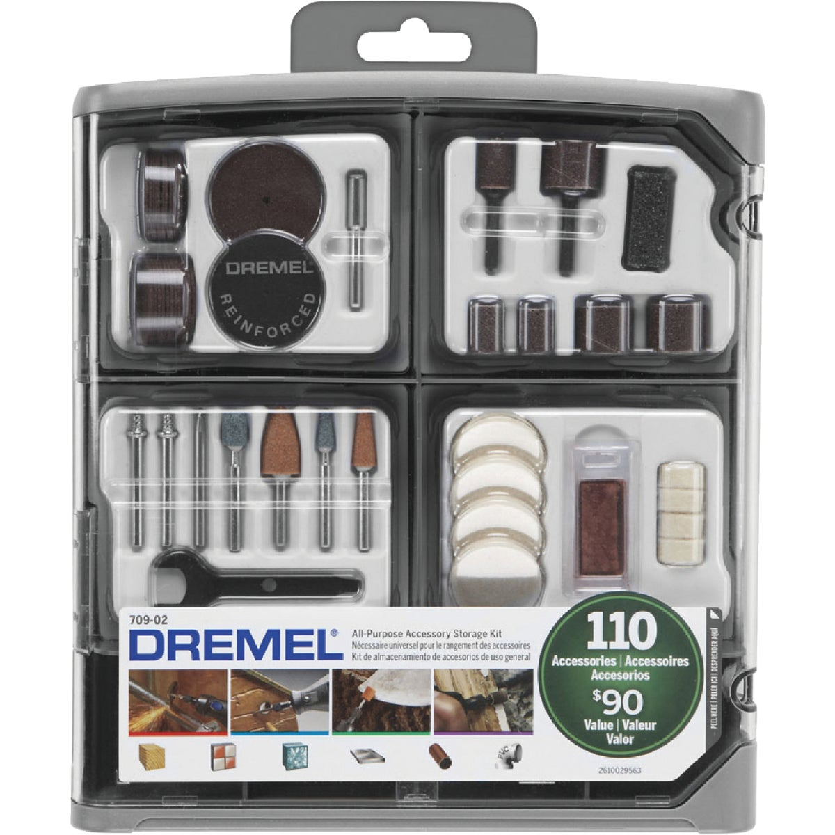 110PC ACCESSORY KIT - 709-01 by Dremel Mfg Co