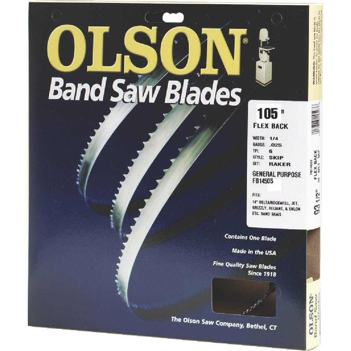 "105"" BANDSAW BLADE - 14505 by Olson Saw Co"