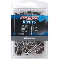 Do it Best Imports 1/8X1/8 BRN ALUM RIVET 348120