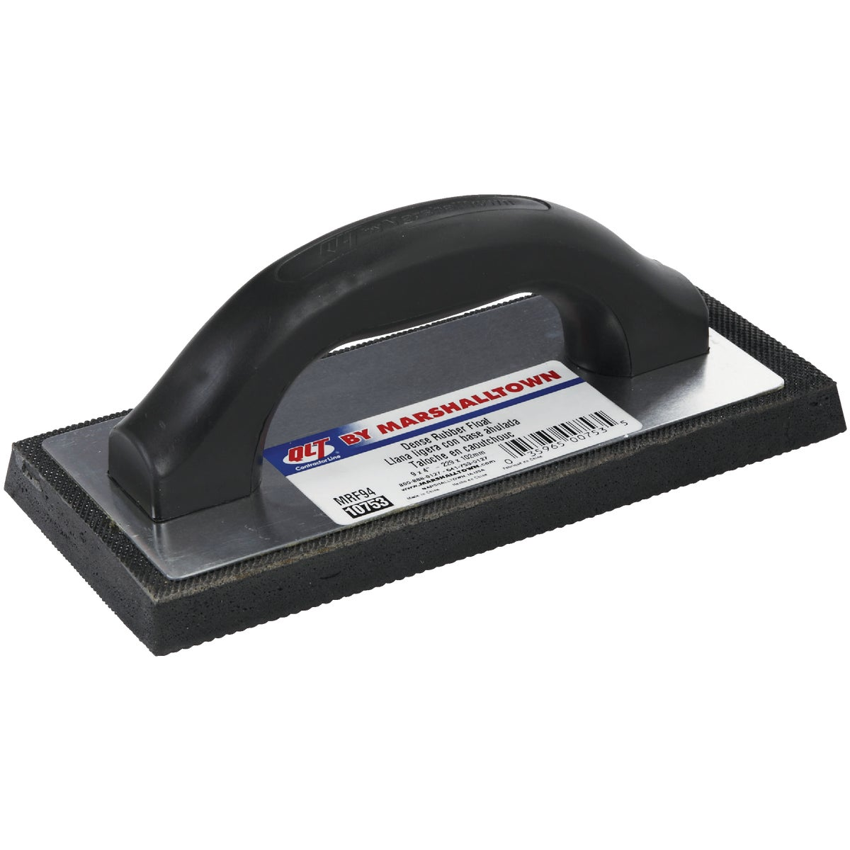 9X4 BLK RUBBER FLOAT - 10753 by Marshalltown Trowel