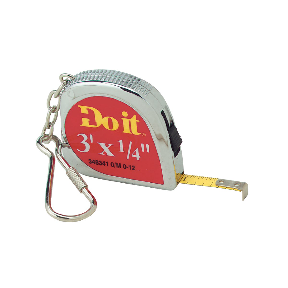 3' KEY RING TAPE RULE - 348341 by Danaher Tool Ltd