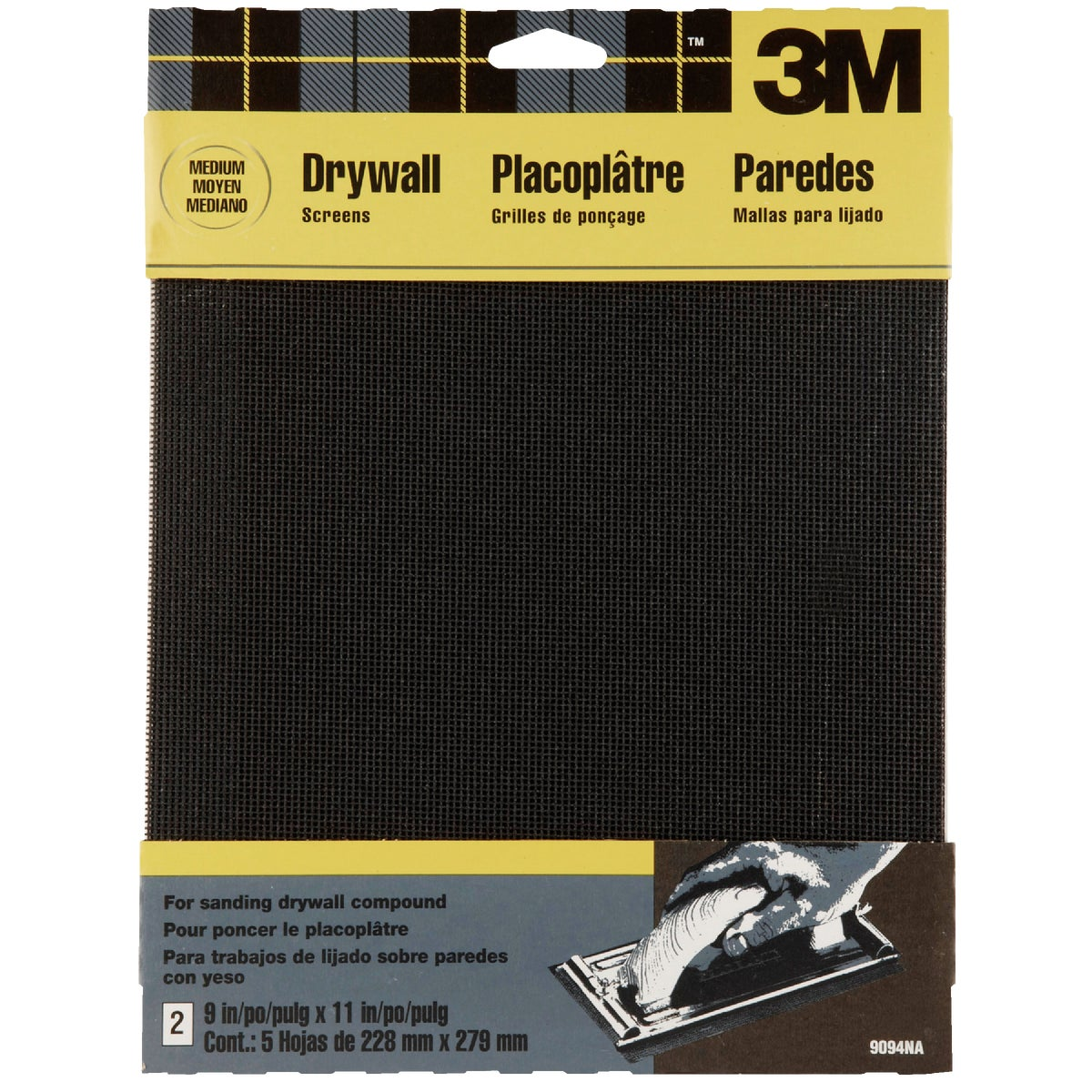 80G DRYWALL SCREEN - 9094 by 3m Co