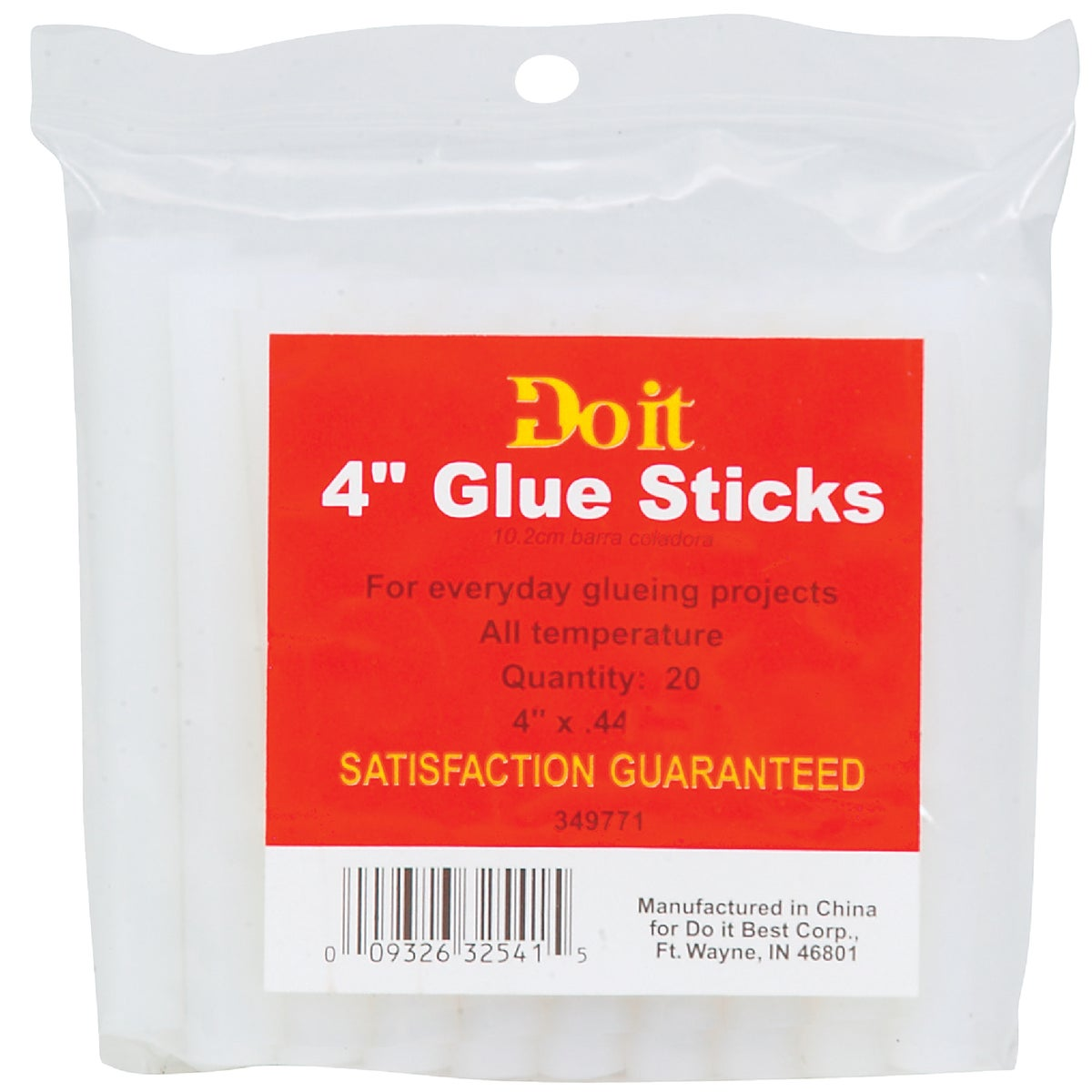 "20PK 4"" GLUE STICKS - 349771 by Do it Best"