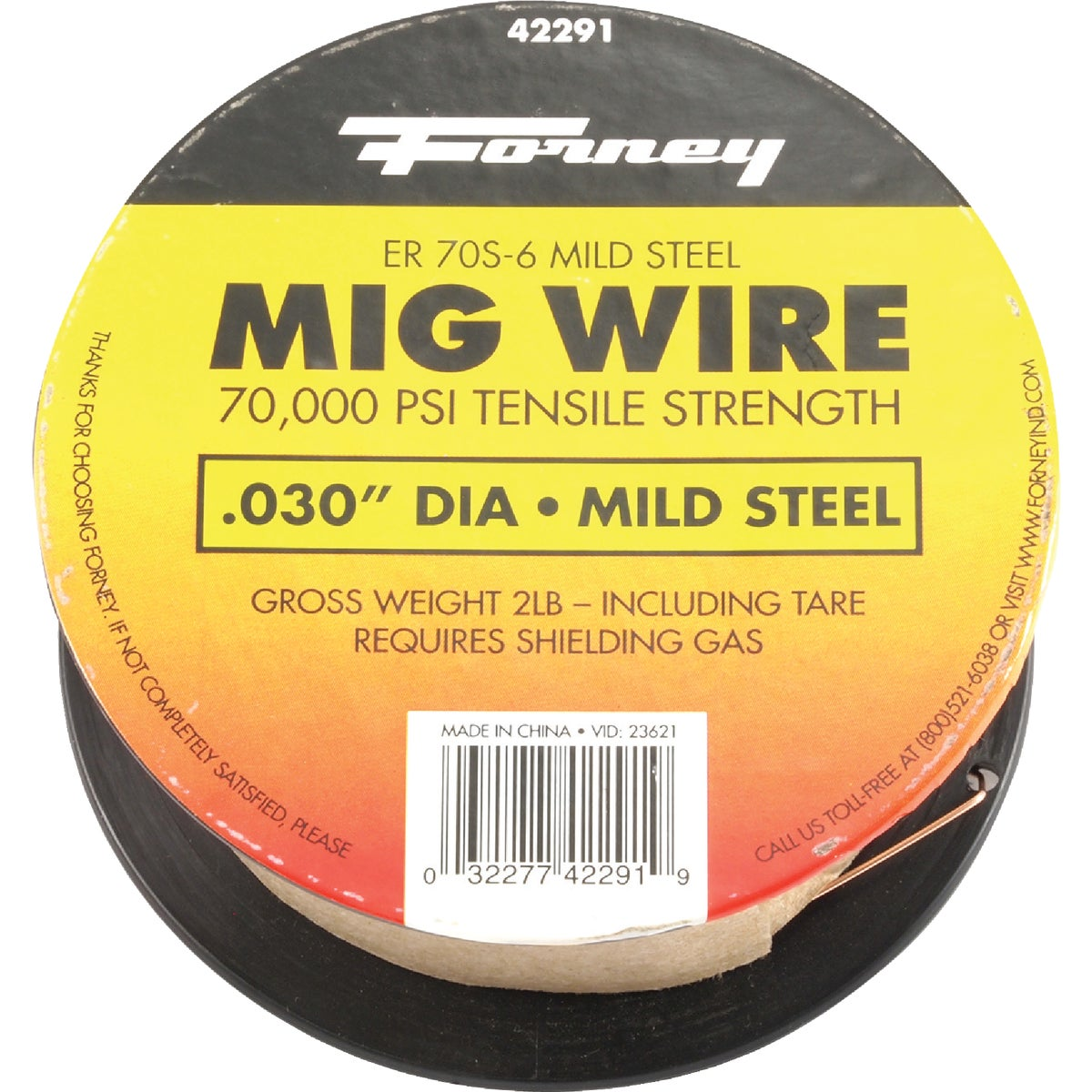 2LB .030 MIG WIRE - 42291 by Forney Industries