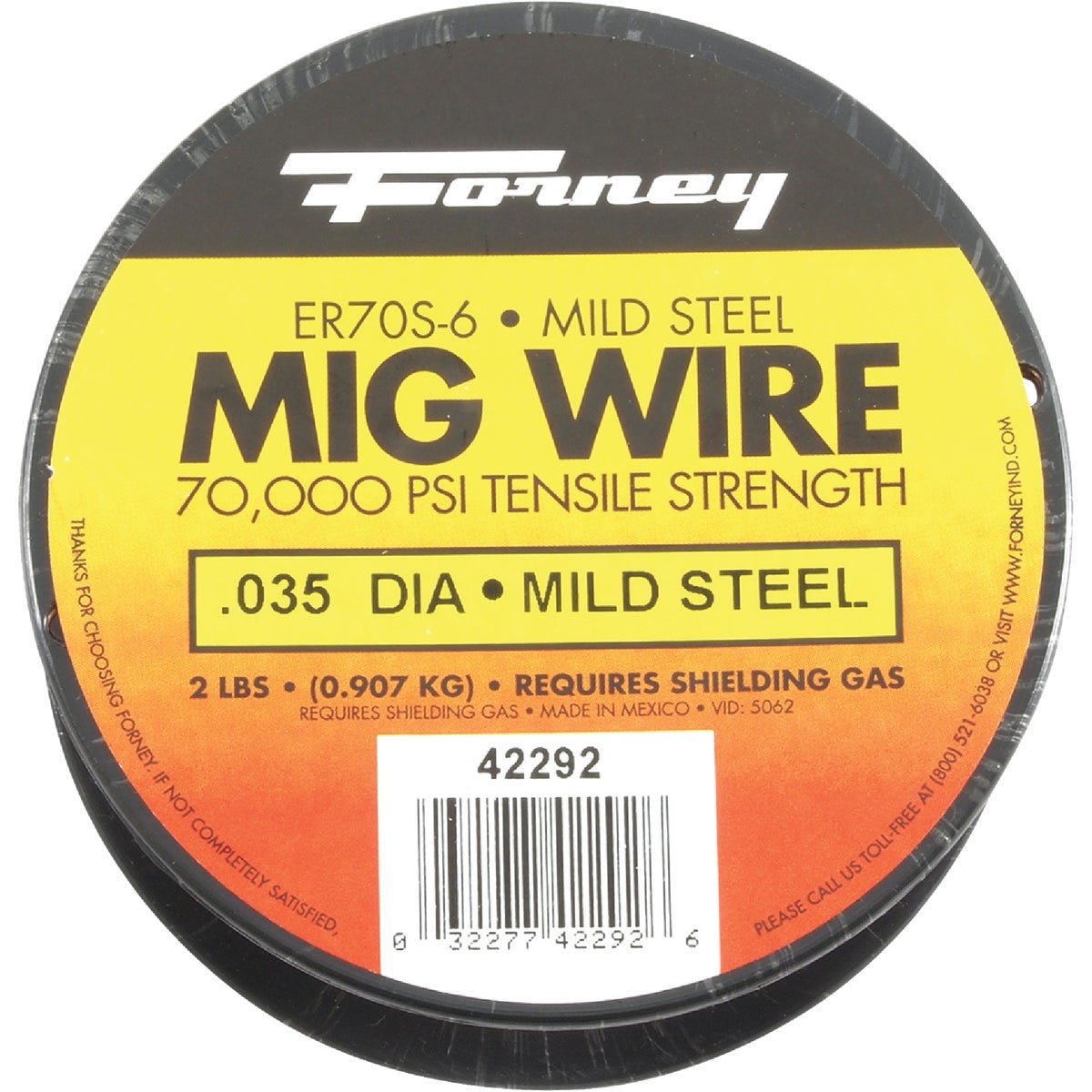 2LB .035 MIG WIRE - 42292 by Forney Industries
