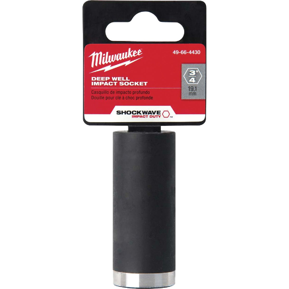 "3/8""DR 5/8"" IMPCT SOCKET - 49-66-4428 by Milwaukee Accessory"