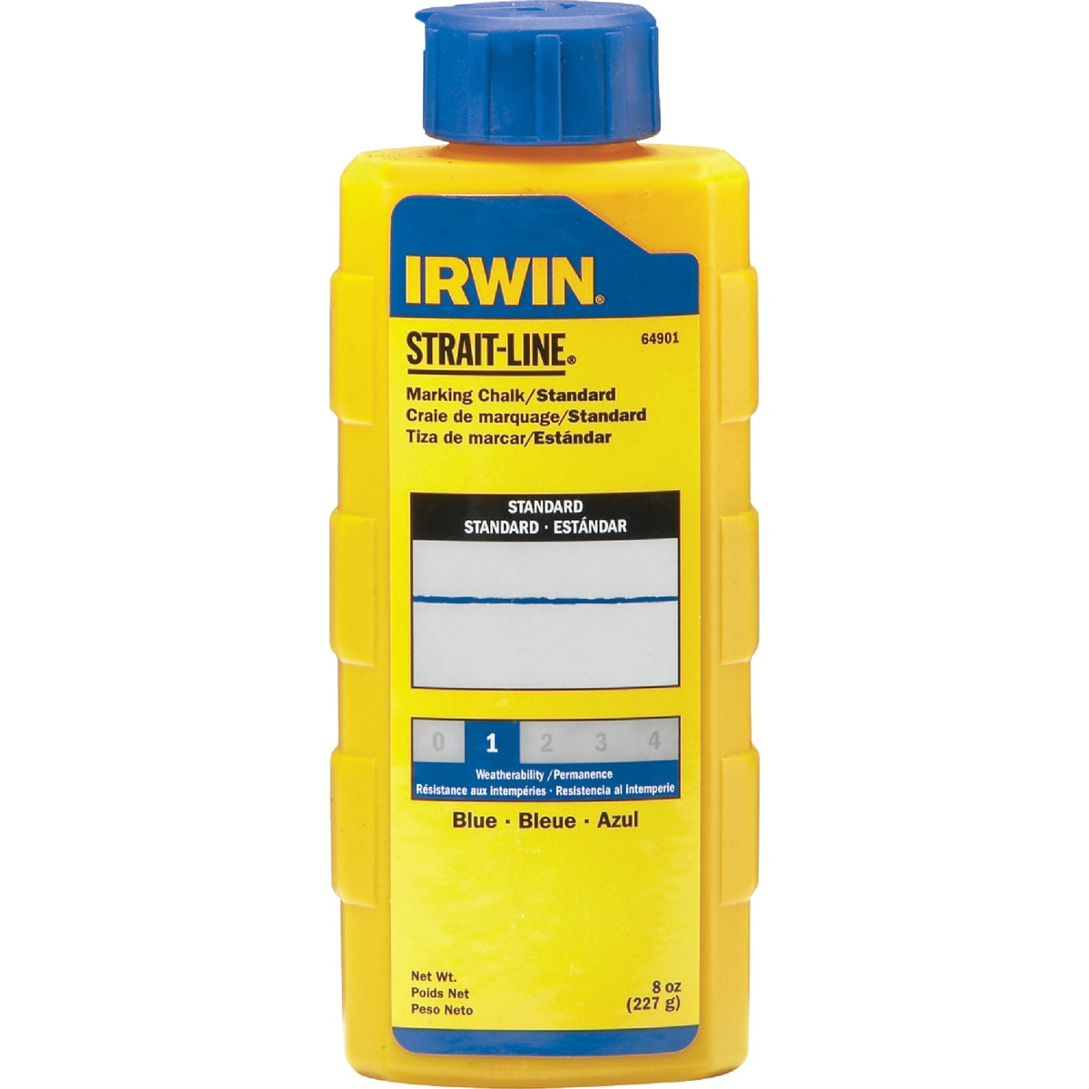 8OZ BLUE CHALK - 64901 by Irwin Industr Tool