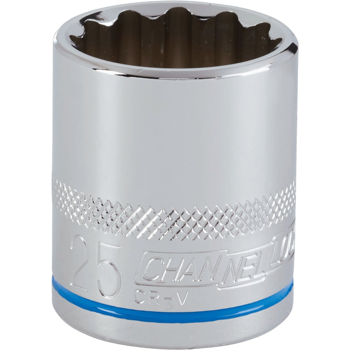 25MM 1/2 DRIVE SOCKET - 12725 by Apex Tool Group
