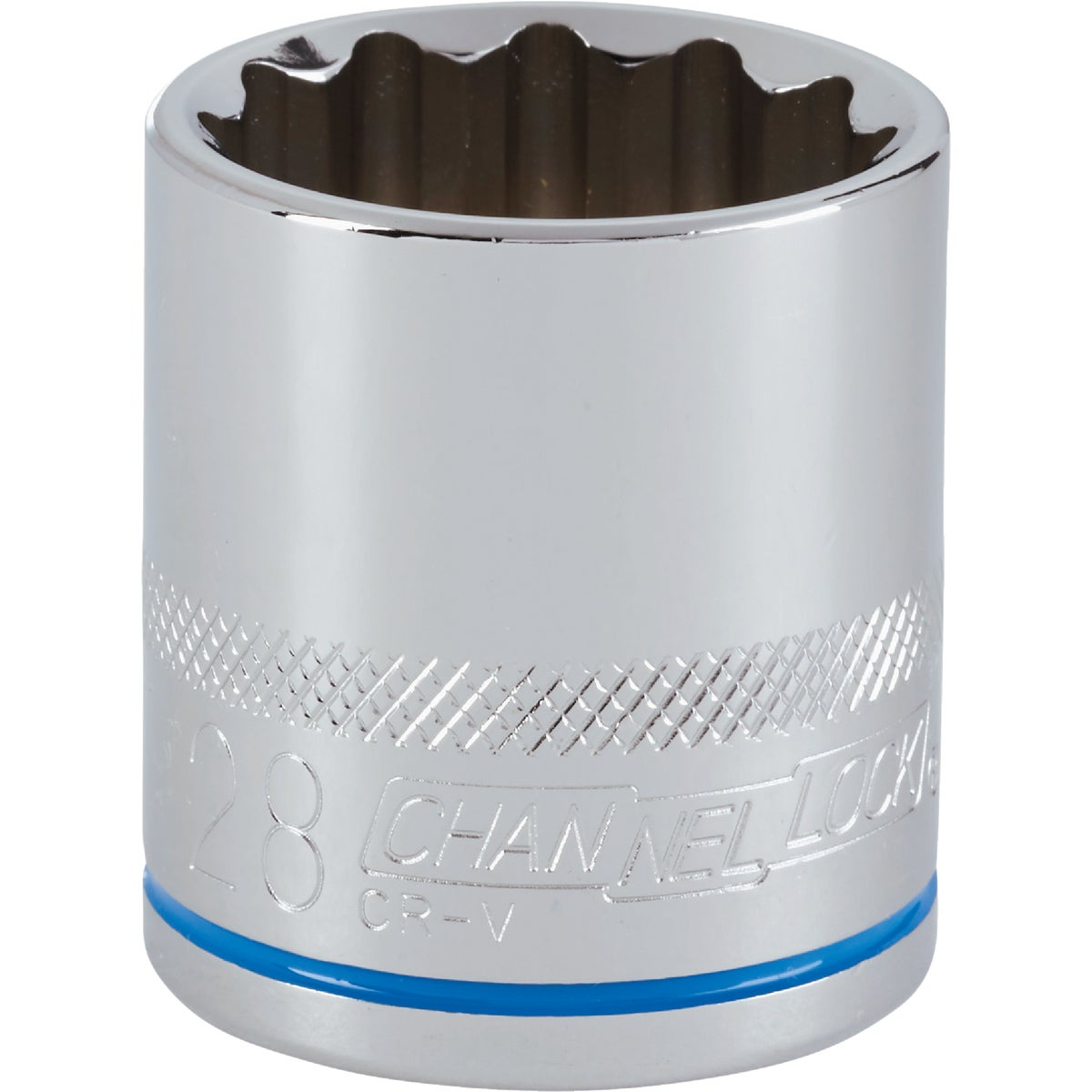 28MM 1/2 DRIVE SOCKET - 12728 by Apex Tool Group