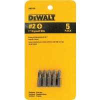 Black & Decker/DWLT 5PC DRYWALL BIT SET DW2105
