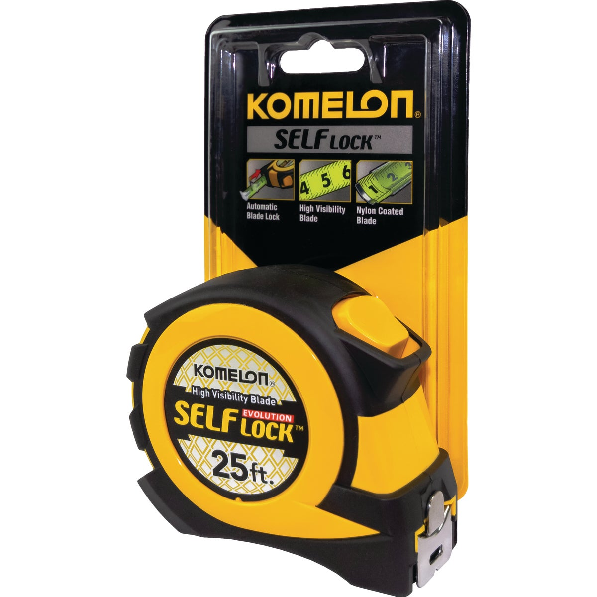 25' SELF-LOCK TAPE RULE - EV2825 by Komelon Usa Corp