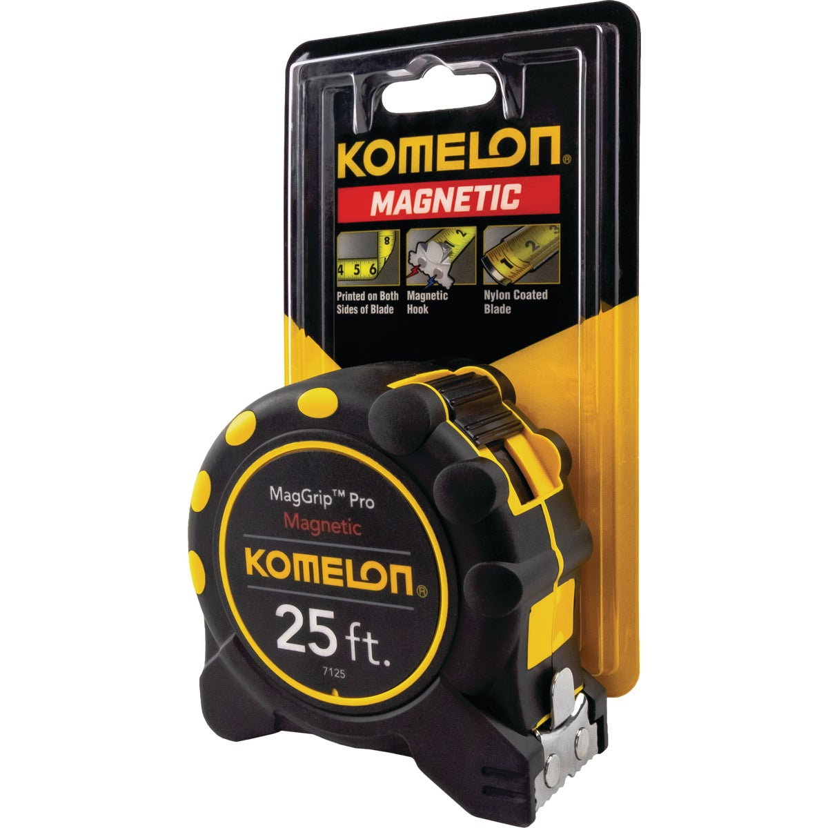 "1""X25' PLASTIC TAPE RULE - 7425 by Komelon Usa Corp"