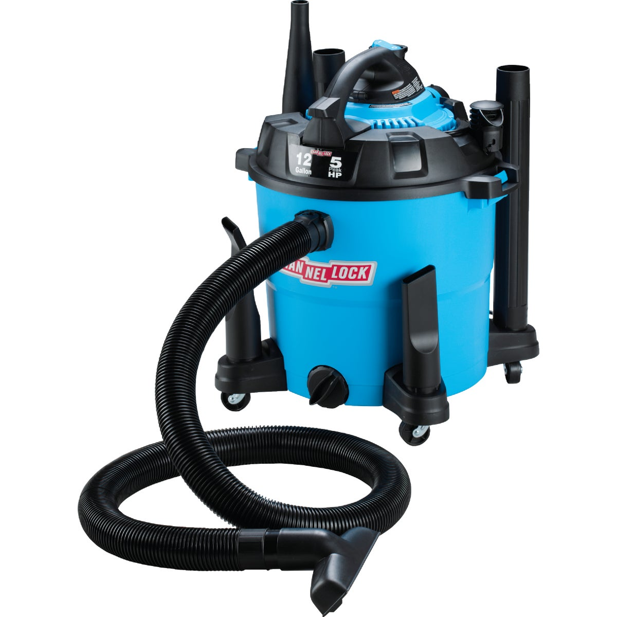 12GAL 5.0HP WET/DRY VAC