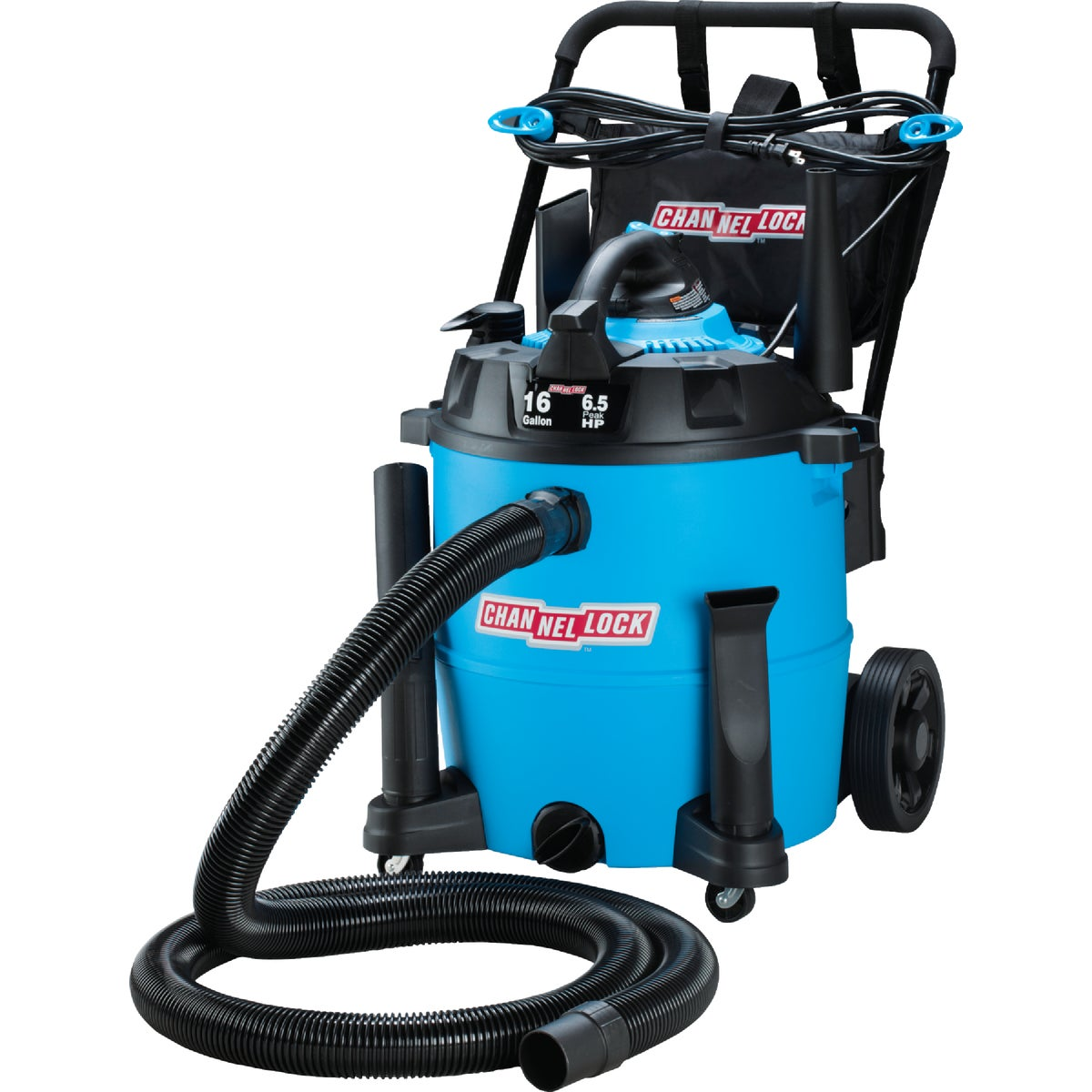 16GAL 6.5HP WET/DRY VAC - VBV1612.CL by Channellock®