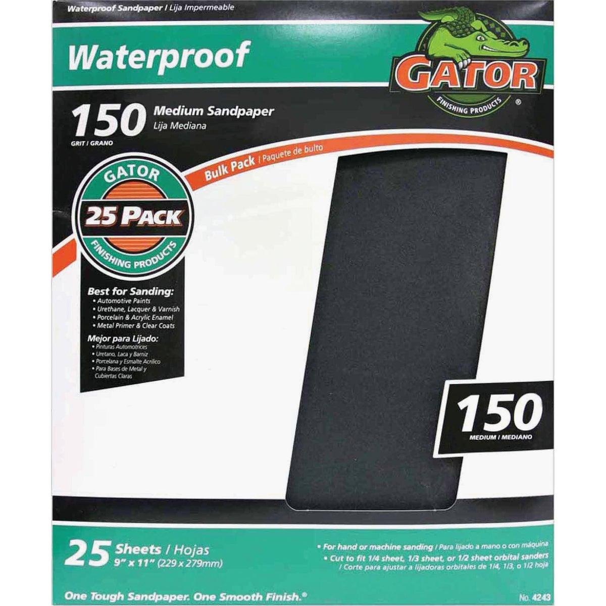 150B WET/DRY SANDPAPER - 4243 by Ali Industries Inc