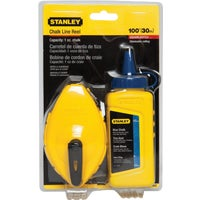 Stanley 100' BLUE CHALK/REEL SET 47-443