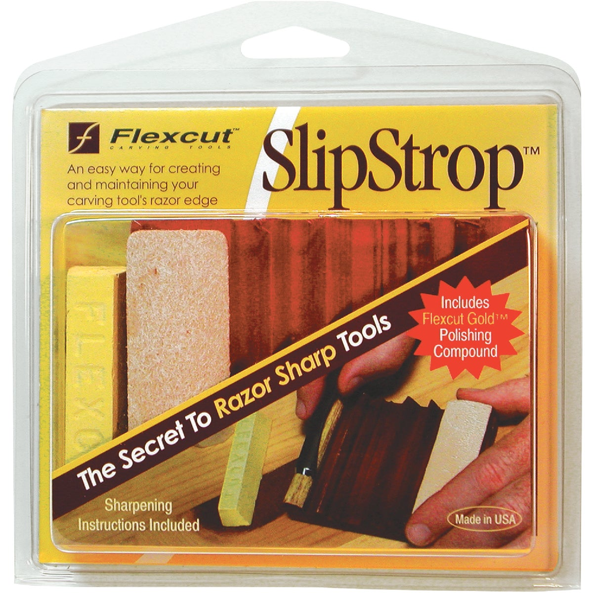 CARVING SHARPENING KIT - PW12 by Flexcut Tool Co