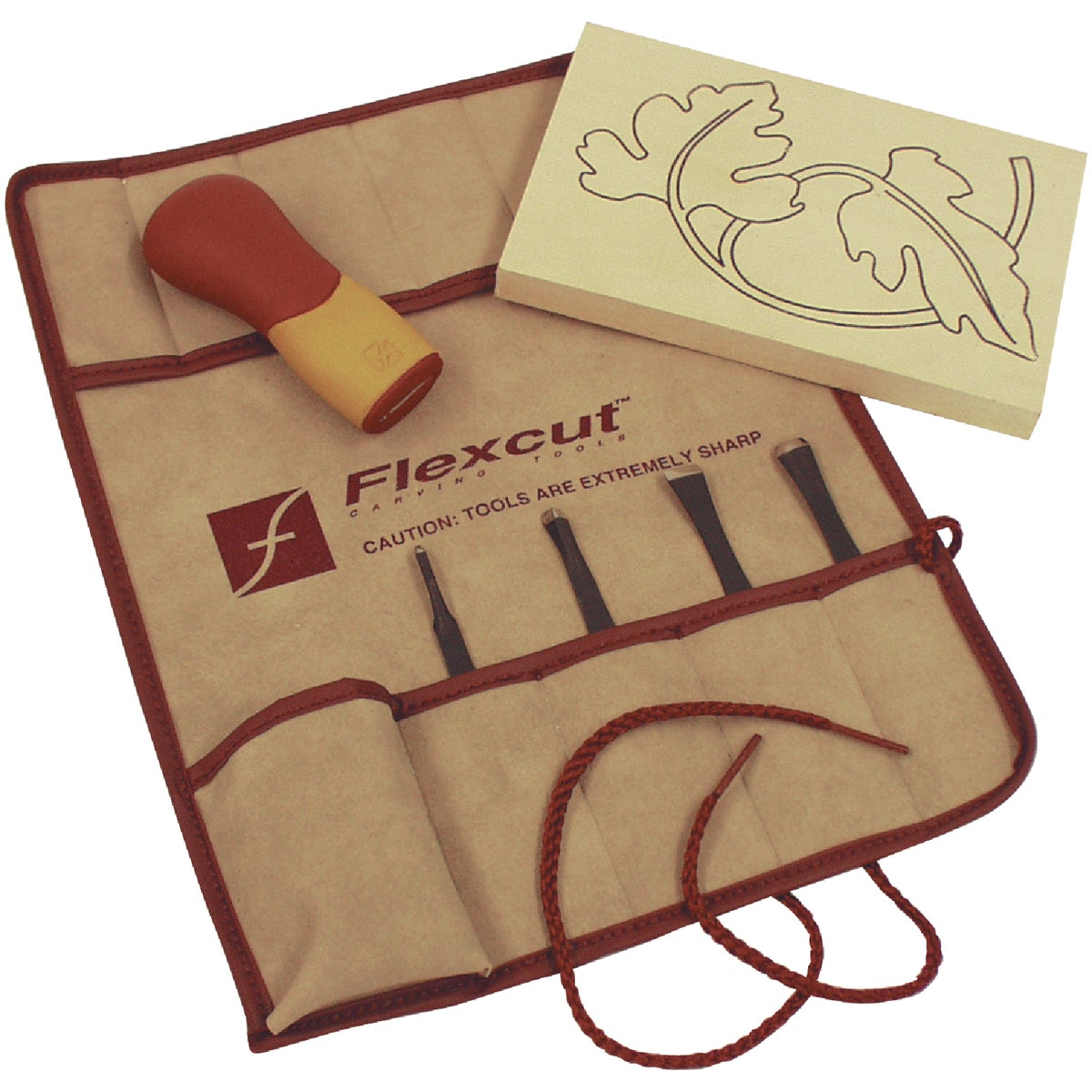 CRAFT CARVER KIT - SK106 by Flexcut Tool Co