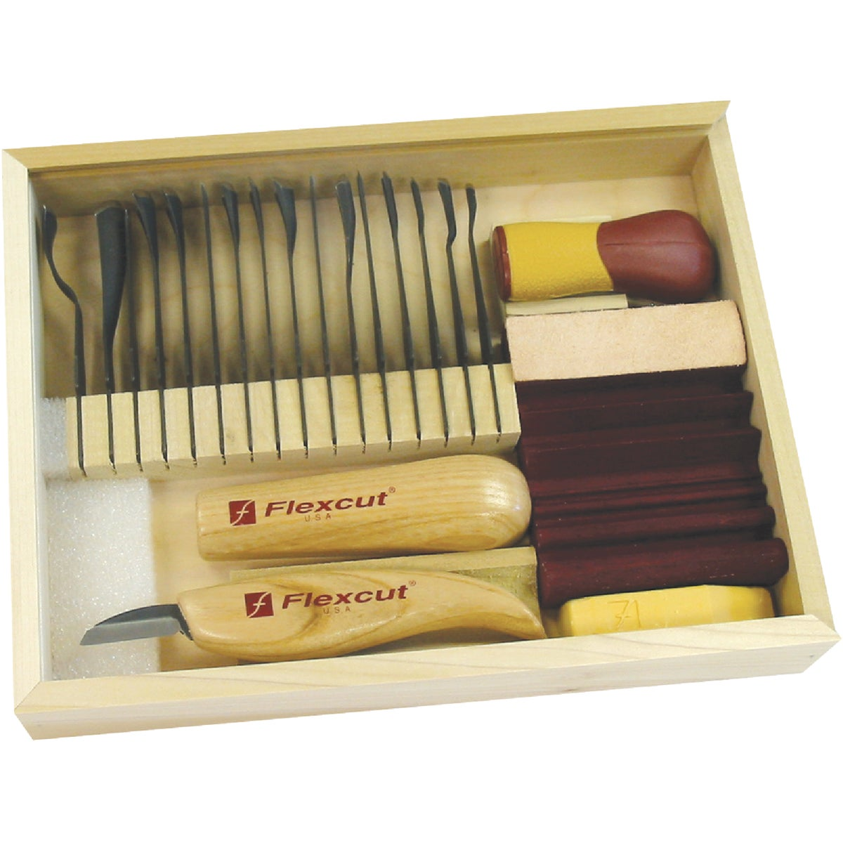 DLX STARTER CARVING SET - SK108 by Flexcut Tool Co