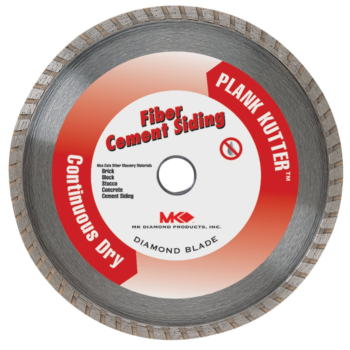 "4"" FIBER CEMENT BLADE - 156993 by M K Diamond Products"