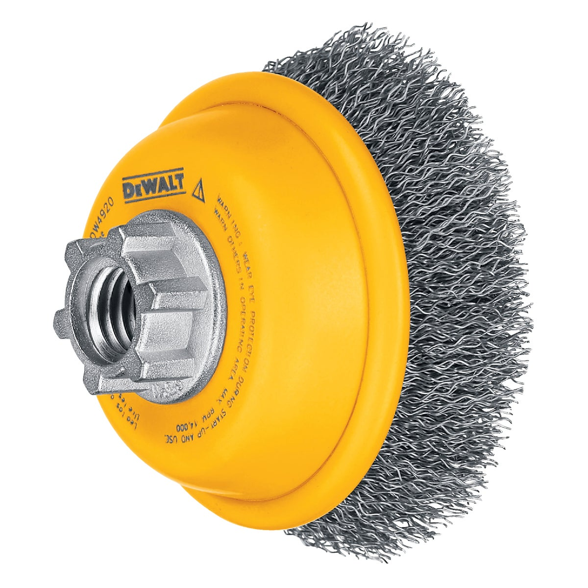 "3"" CRIMPED CUP BRUSH - DW4920 by DeWalt"