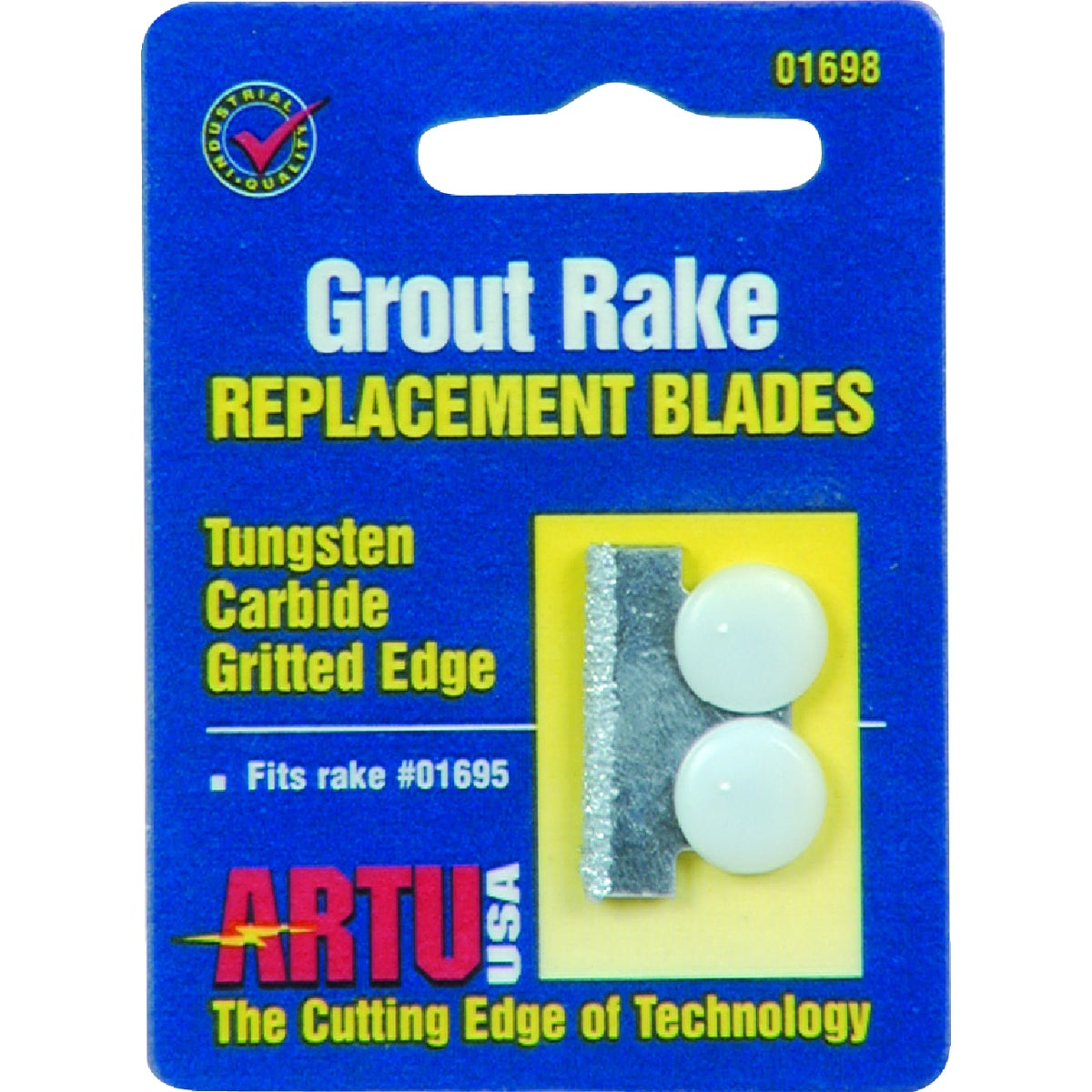 GROUT RAKE REPLCMT BLADE - 01698 by Artu Usa Inc