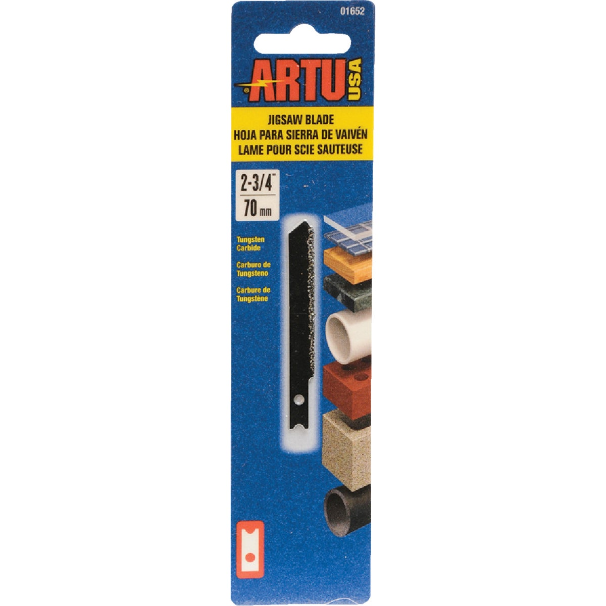 "3"" TC JIGSAW BLADE - 01652 by Artu Usa Inc"