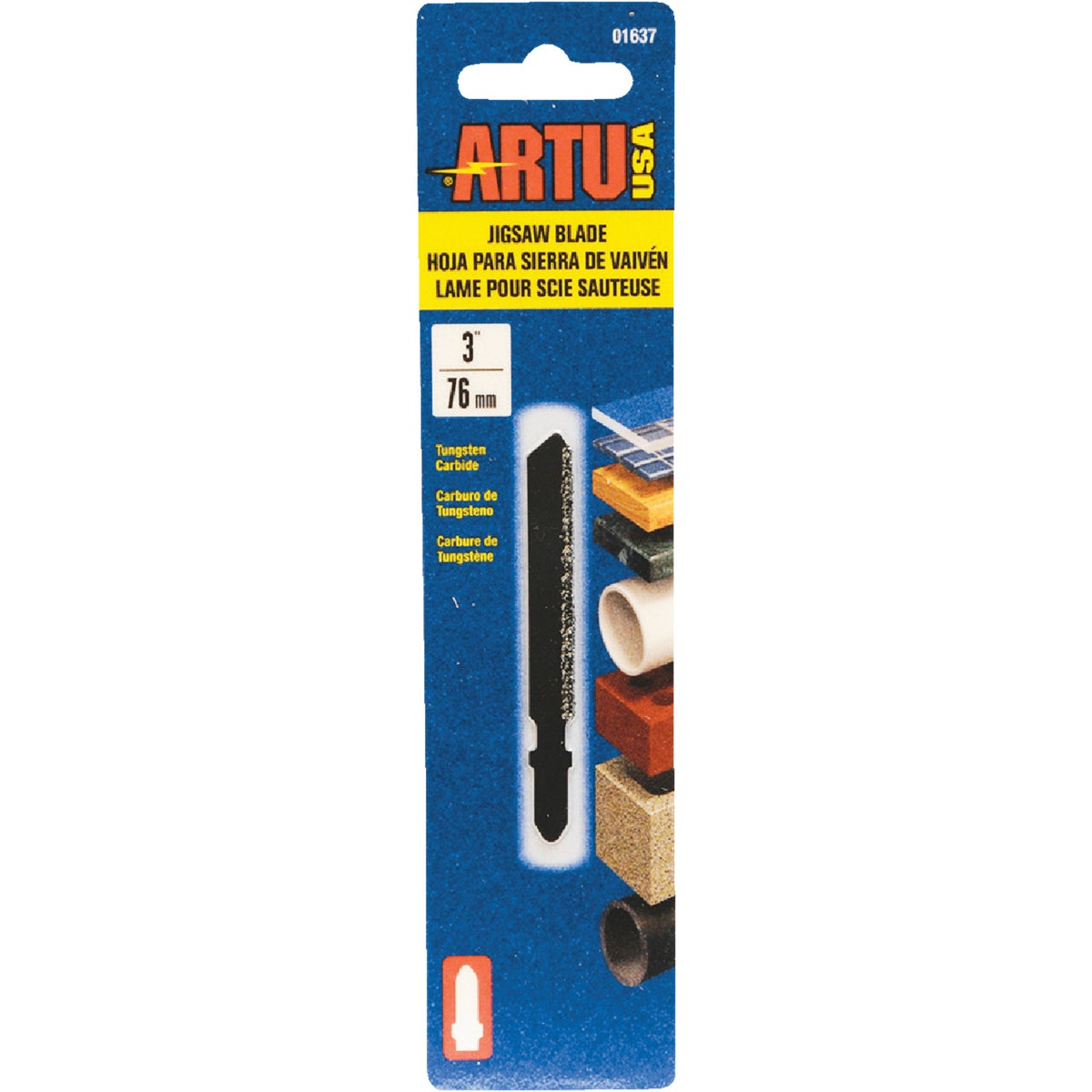"3"" TC JIGSAW BLADE - 01637 by Artu Usa Inc"