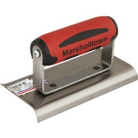 Marshalltown Trowel 6X3 CURVED END EDGER 14146