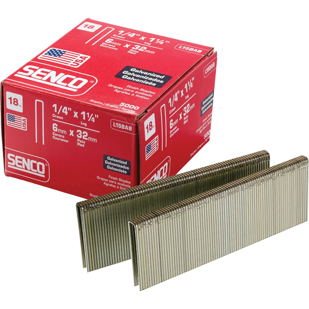 1-1/4X1/4 STAPLE - L15BAB by Senco Brands