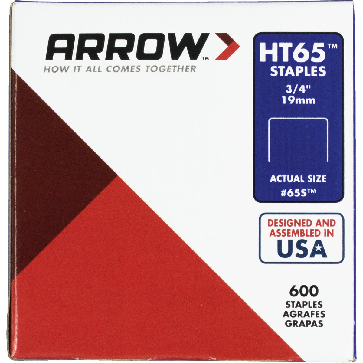 "3/4"" STAPLE - 65S by Arrow Fastener Co"