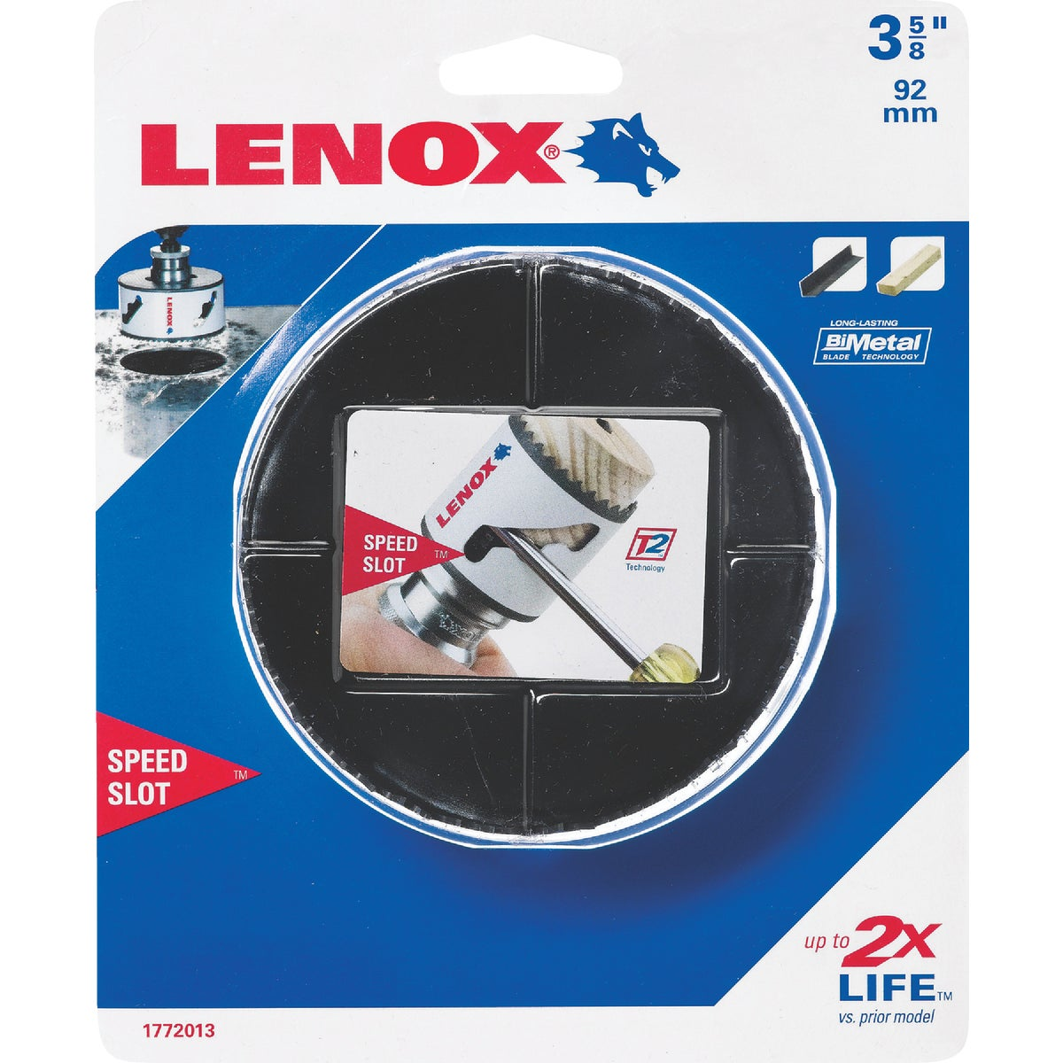 "3-5/8"" HOLE SAW - 1772013 by Lenox"
