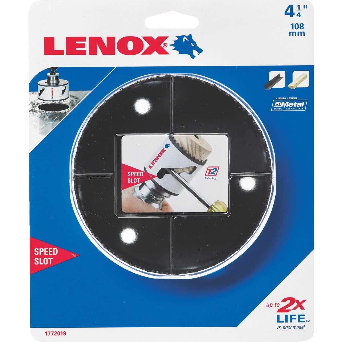 "4-1/4"" HOLE SAW - 1772019 by Lenox"