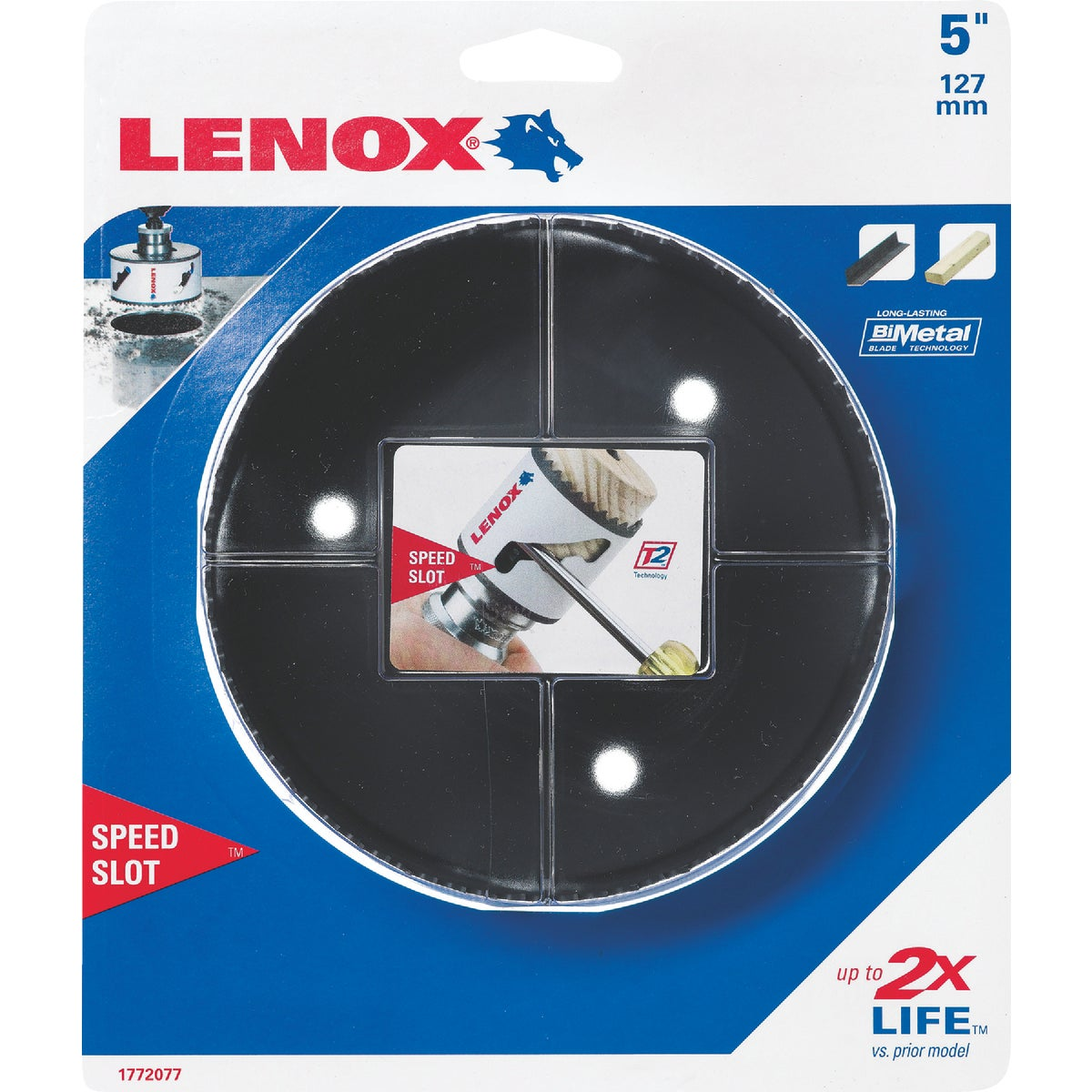 "5"" HOLE SAW - 1772077 by Lenox"