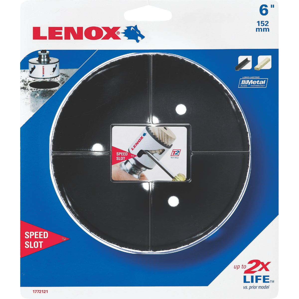 "6"" HOLE SAW - 1772121 by Lenox"